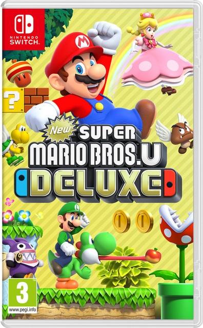 New Super Mario Bros U Deluxe NSP Switch