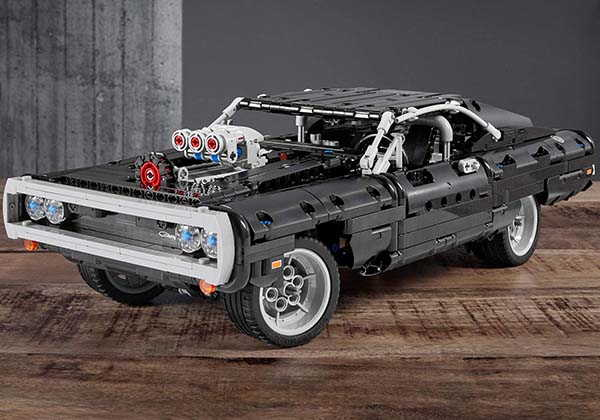 Fast&Furious movie inspired LEGO car
