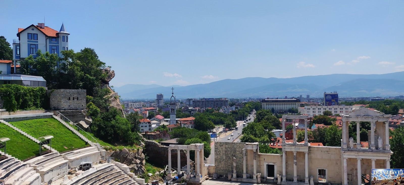 Bulgarie Plovdiv théâtre