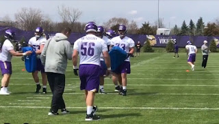 Garret Bradbury | Vikings camp | nfl