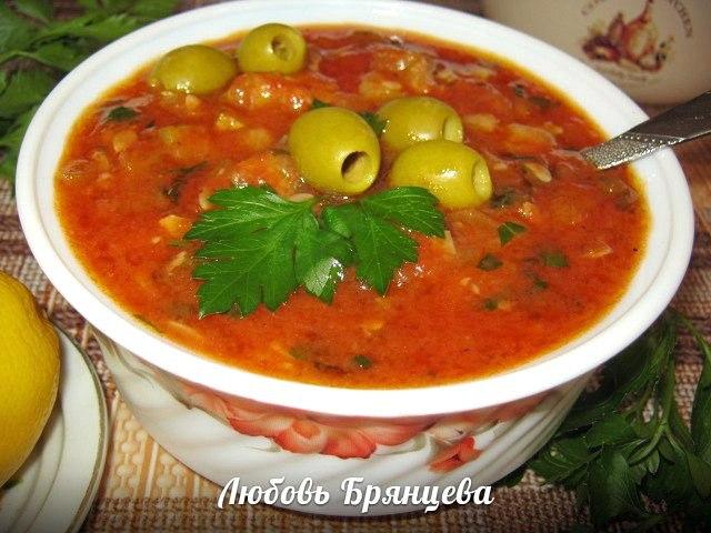 соус кабачков помидор