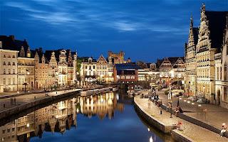 Kota Ghent - Belgia