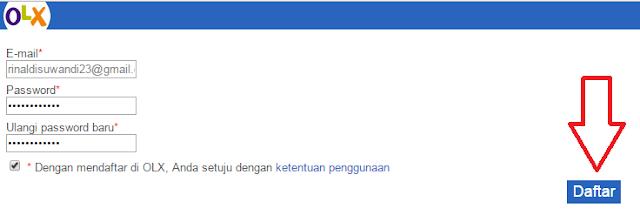Cara Daftar OLX.co.id Atau Tokobagus.com Lewat HP Terbaru