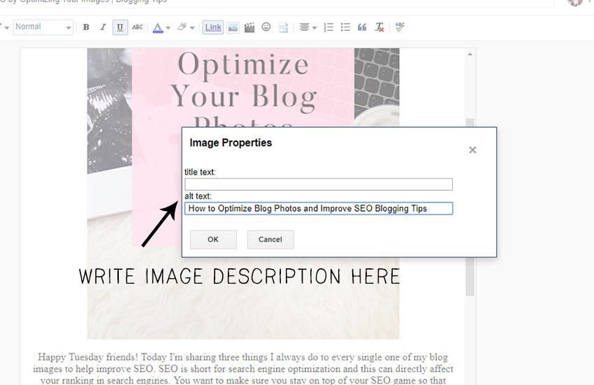 Three Tips to Improve SEO for Bloggers by Optimizing Blog Photos