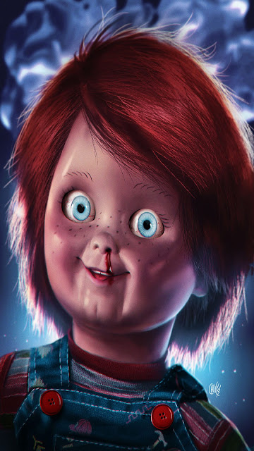 Papel de Parede Assassino Chuckie para celular.