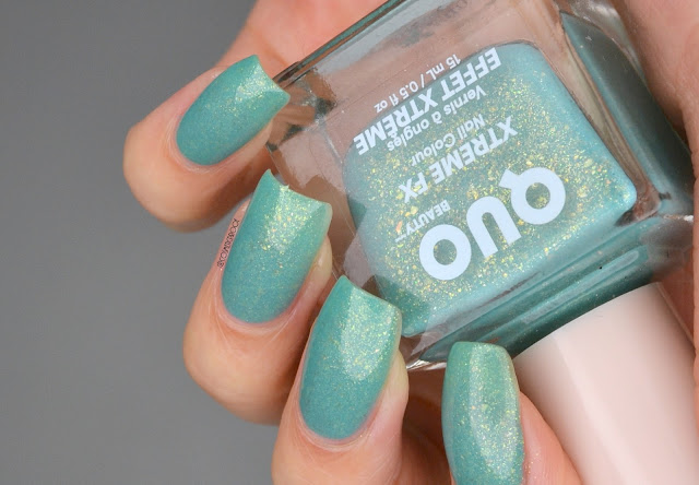 Quo Beauty Xtreme FX Happy Go Lucky Nail Polish Swatch