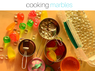 Got Bored Kids? 17 Practical Mom Ideas to try right away! Cooking Marbles