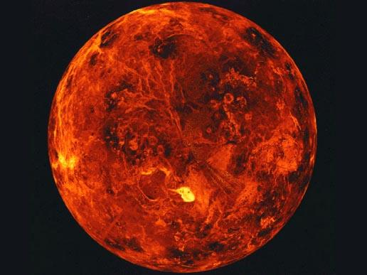 Venus, visto desde el Hubble