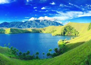Danau Sentani Paling Indah di Papua