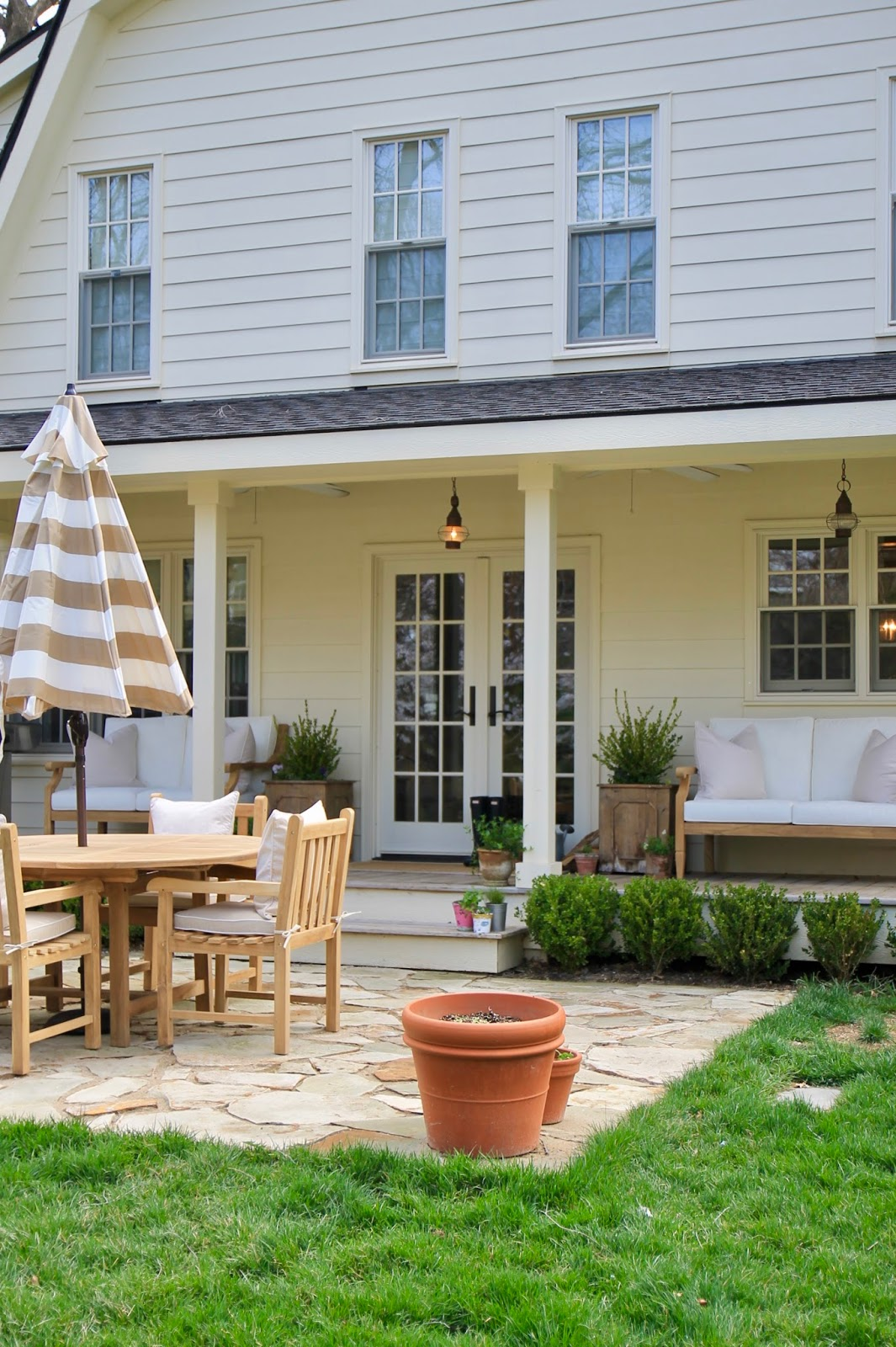 Jenny Steffens Hobick Our New Outdoor Furniture Ballard