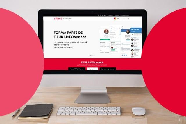 Fitur desarrolla su evento de networking a través de la plataforma FITUR LIVEConnect