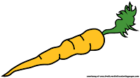 public domain carrot cliparts