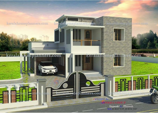 low budget 3 bedroom house plans with photos in kerala