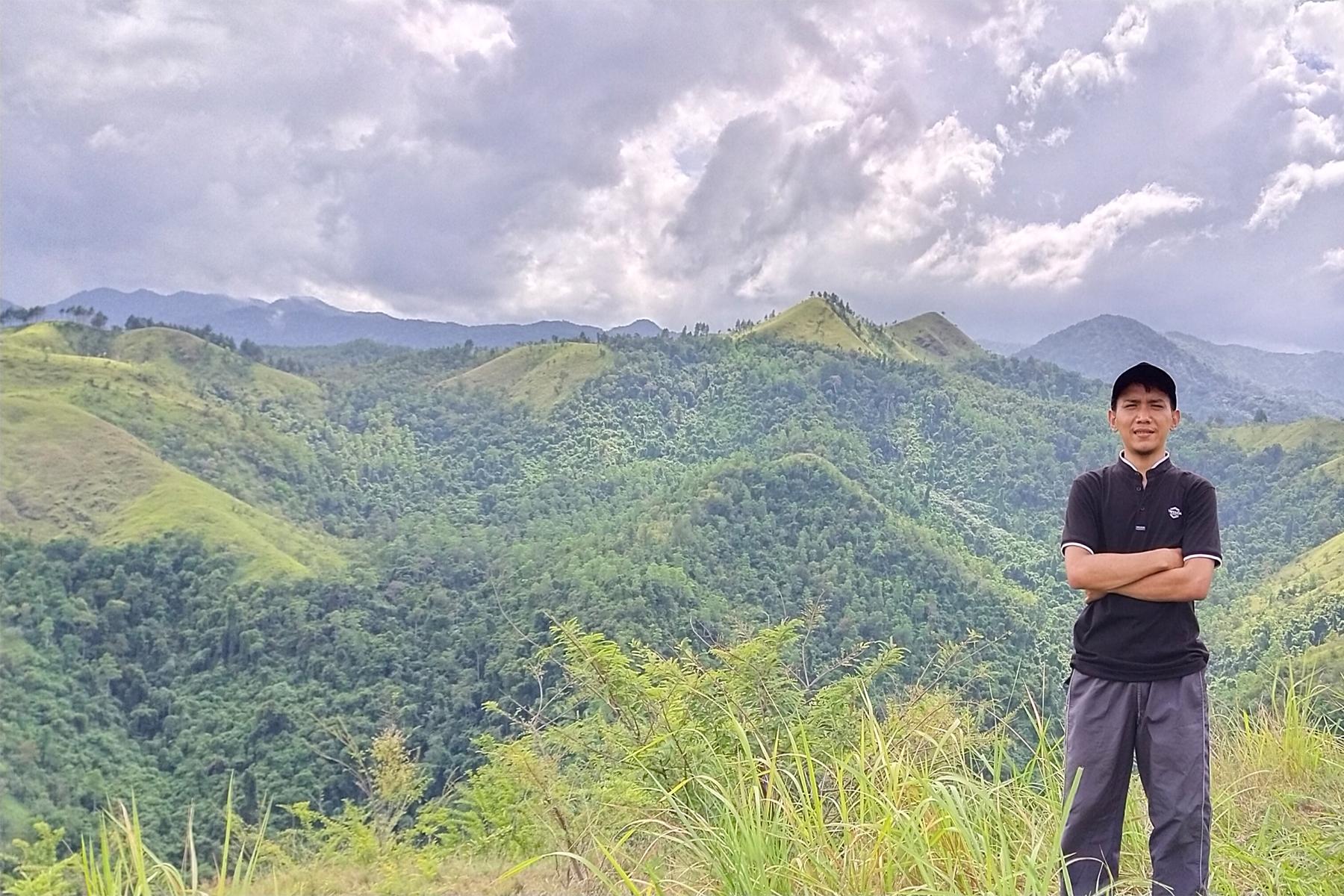 Mendaki Bukit Cot Goh Dua oleh Halolibur.com