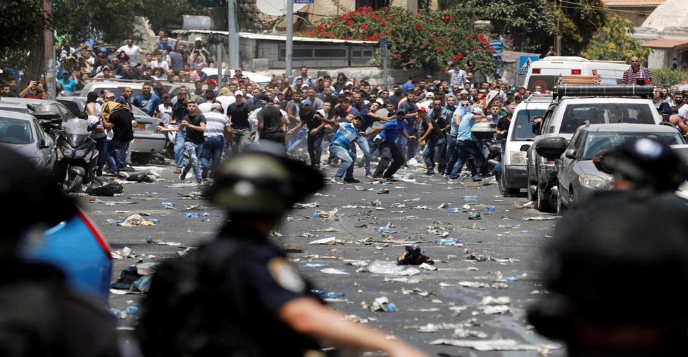Image result for palestina protes isytihar baitul maqdis ibu negara
