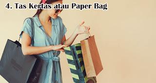 Tas Kertas atau Paper Bag cocok untuk dijadikan souvenir