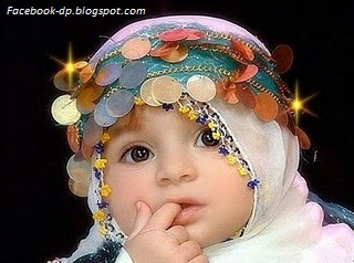 Beautiful baby girl image for dp