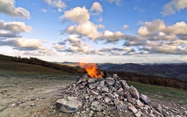Monte Busca volcano