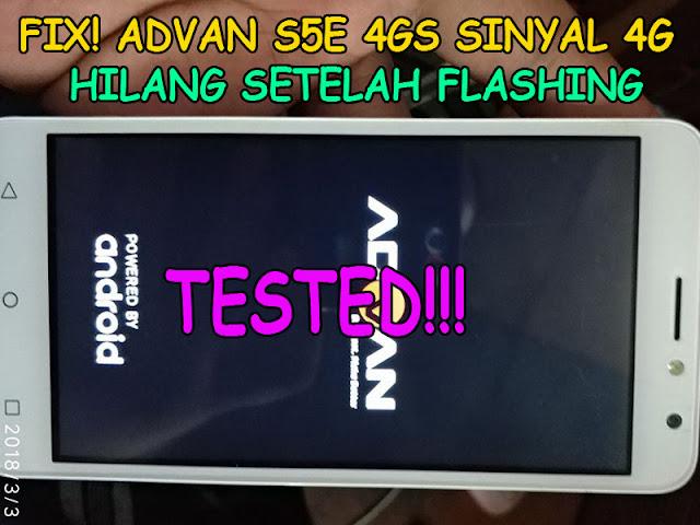 cara mengatasi advan s5e 4gs sinyal hilang,fix advan s5e sinyal hilang,sinyal hilang advan s5e 4gs,sinyal hilang,advan s5e 4gs,advan s5e,jaringan,no service,advan s5e 4gs sinyal 4g hilang,