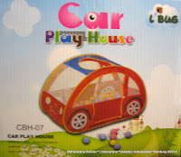 Junior L'abeille Car Play House with 100 Balls