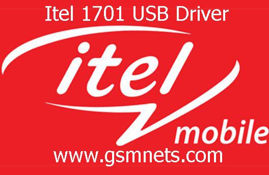 Itel 1701 USB Driver Download