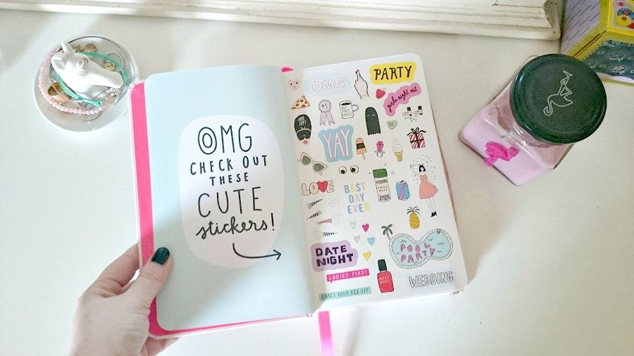 THE Ban.do Diary, The Style Guide Blog, stationery for adults