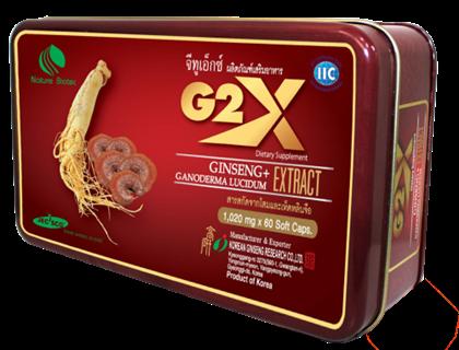 G2X จีทูเอ็กซ์ ผลิตภัณฑ์โสมเกาหลีสกัดบำรุงประสาทและสมอง