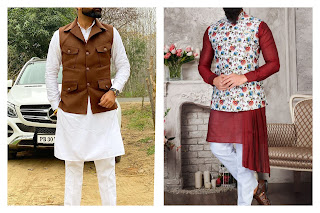 Styling a kurta pajama with vests