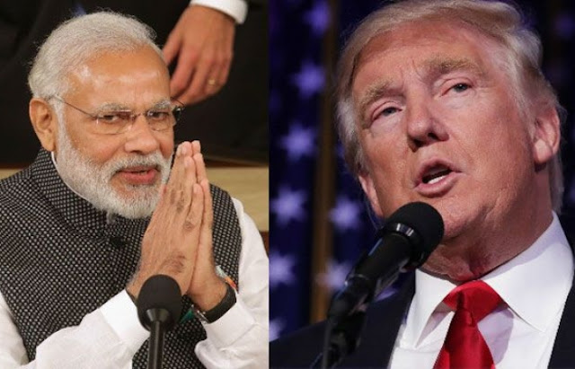 PM Narendra Modi invites US President Donald Trump to India