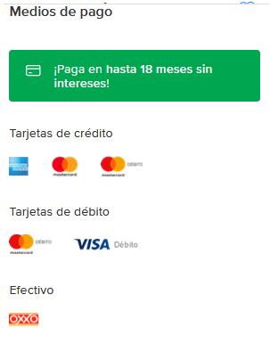 Mexico, catalogo de electricidad