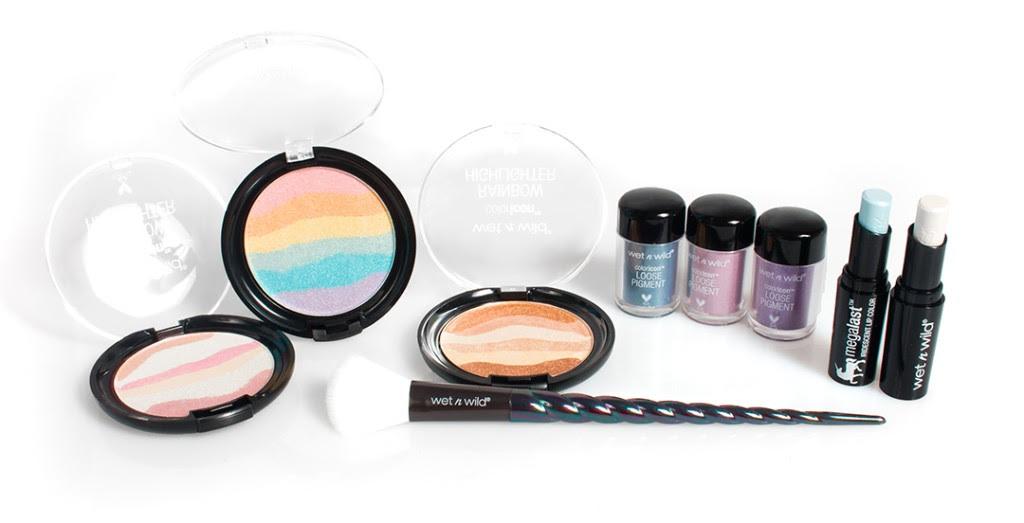 A fairytale makeup look with wet n wild® Unicorn Glow - Rachsbeautique