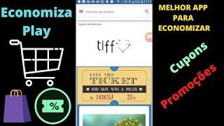 Aplicativo para comprar barato (economizar) - Cupons de desconto e promoção (melhores lojas)!