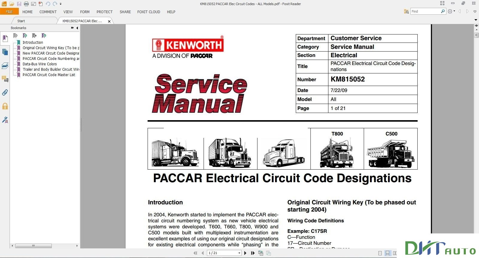 kenworth w900 t800 service manual open source user manual u2022 rh dramatic varieties com 1994 T800 Wiring Schematic for A Kenworth T800 Wiring Diagram Symbols
