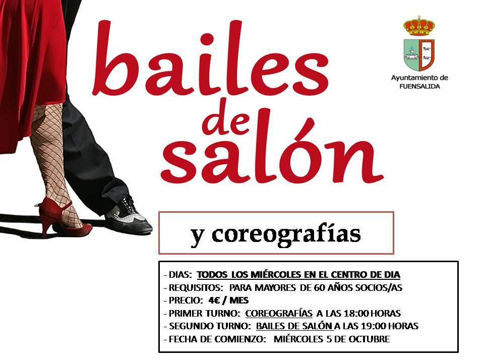 Clases de bailes de sal n y coreografias centro de d a for Academias de bailes de salon en madrid