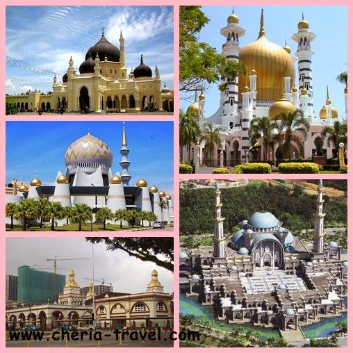 Beberapa masjid di Malaysia