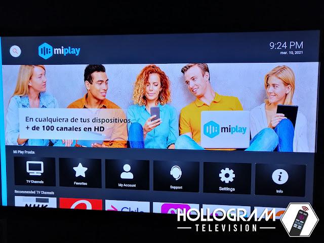 Aplicación Roku MiPlay.cl