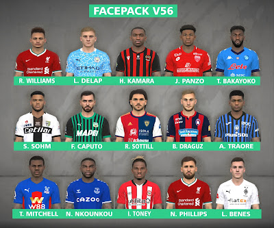 PES 2017 Facepack v56 by FR Facemaker