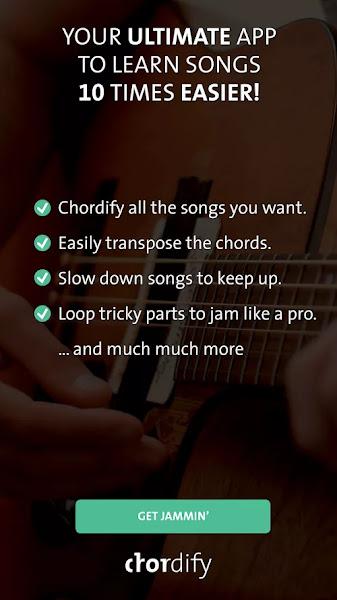 Chordify (MOD, Premium Unlocked)