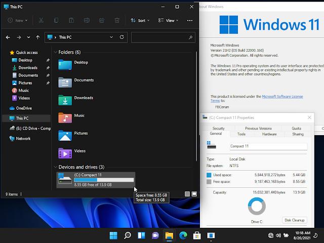 Windows 11 Versi Lite