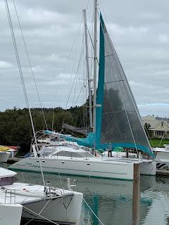 Virtual sailing during lockdown