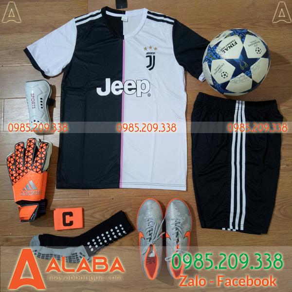 Áo CLB Juventus 2019 Màu Trắng Đen