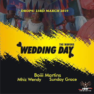 "Afro Pop singer ""Boiii Martins"" set to drop a song dedicated for his recently wedded Sister ""Lola"" and her Hubby ""Mayorkun""."