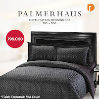 Dusdusan Palmerhaus Rhytm Sateen Bedding Set 180 X 200 cm ANDHIMIND