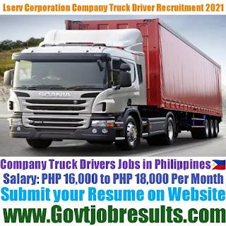 Lserv Corporation Company Truck Driver Recruitment 2021-22