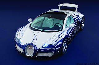 2013 Bugatti Veyron Roadster Exclusive Edition Official Media Source Original White Gold Porcelain