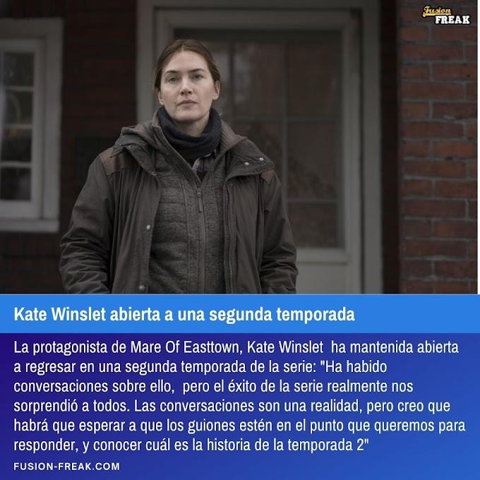 Kate Winslet abierta a una segunda temporada de Mare of Easttown
