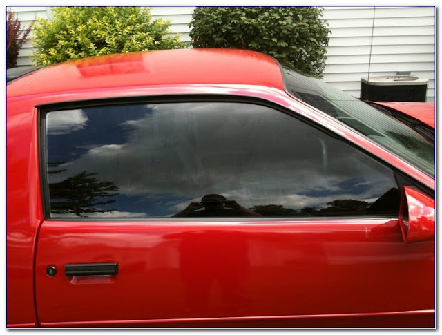 Applying WINDOW TINT Film