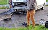 Homem morre após colidir moto com viatura da Polícia Militar na PE-300