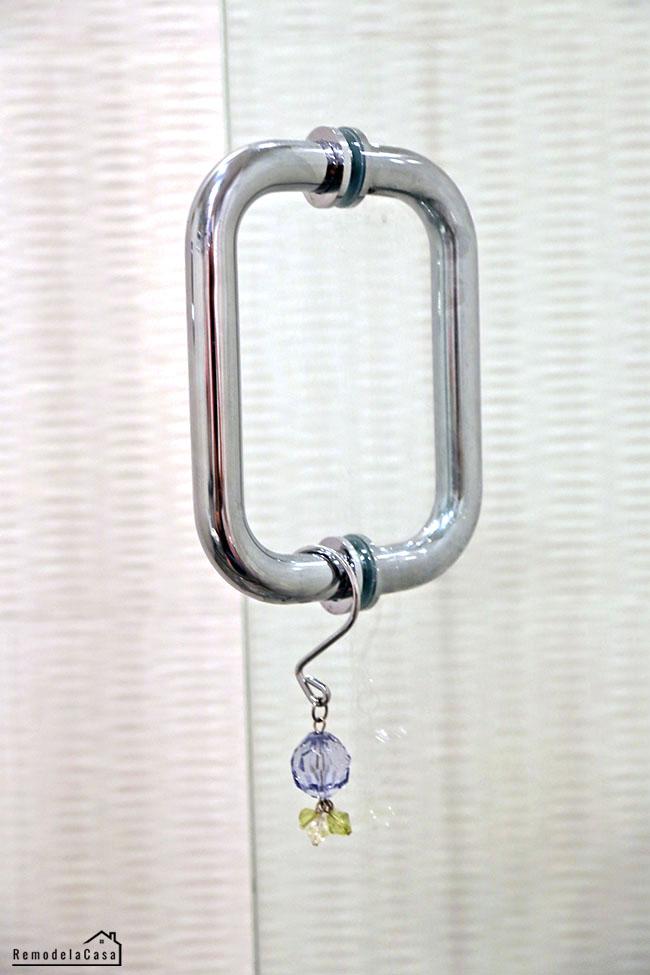 strong shower door handle