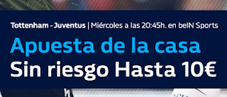 william hill promocion Tottenham vs Juventus 7 marzo